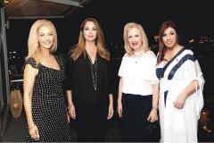Fotini Androulaki, Angela Gerekou, Irene Vassilopoulou, Ada Iliopoulou