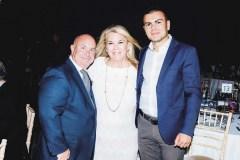 David Andrews, Angy Margaritis Andrews, Vassili Vroutsis