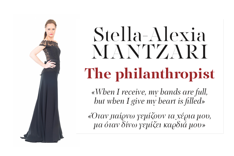 Stella-Alexia Mantzari: The Philanthropist