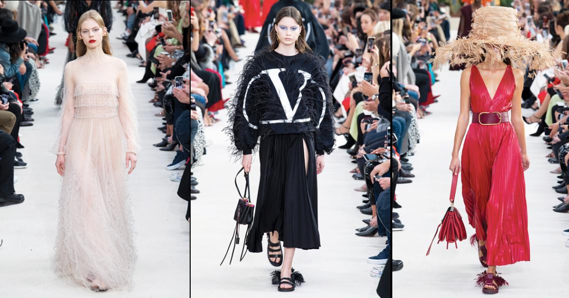 VALENTINO Spring/Summer 2019 Ready-to-Wear – Paris Fashion Week