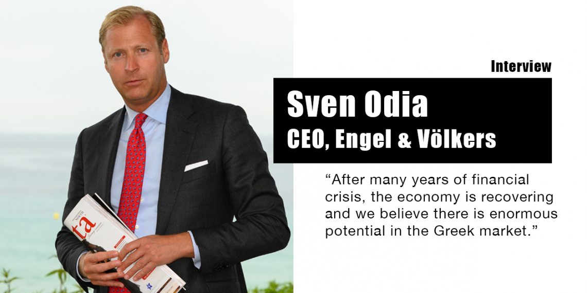 Engel & Völkers – Συνέντευξη με το CEO Sven Odia