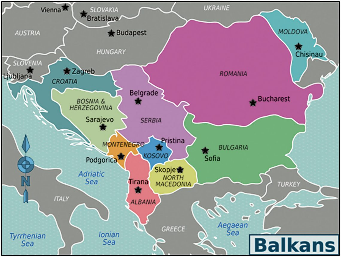 The BALKANS, as Space & Time