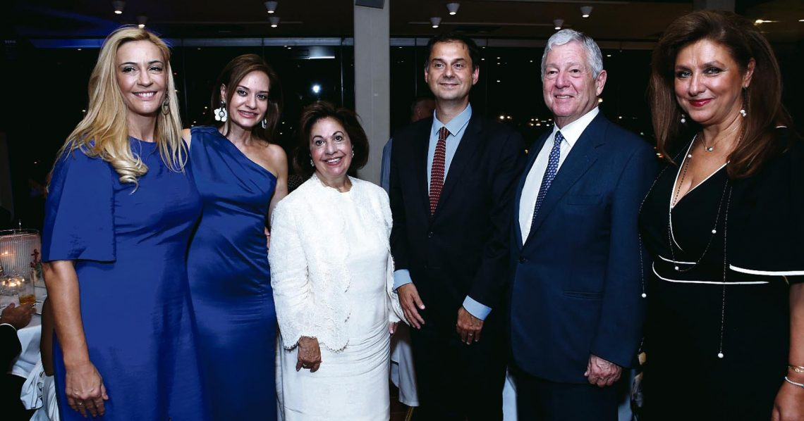 «Captain's Dinner»  at the Yacht Club of Greece