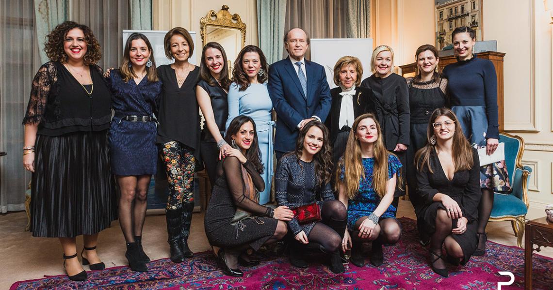 London-Mayfair: Greek International Women Awards 2020 launch event at the Greek Embassy
