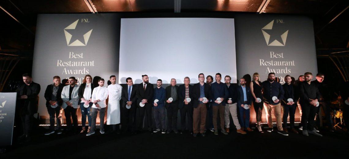 FNL Best Restaurant Awards 2020