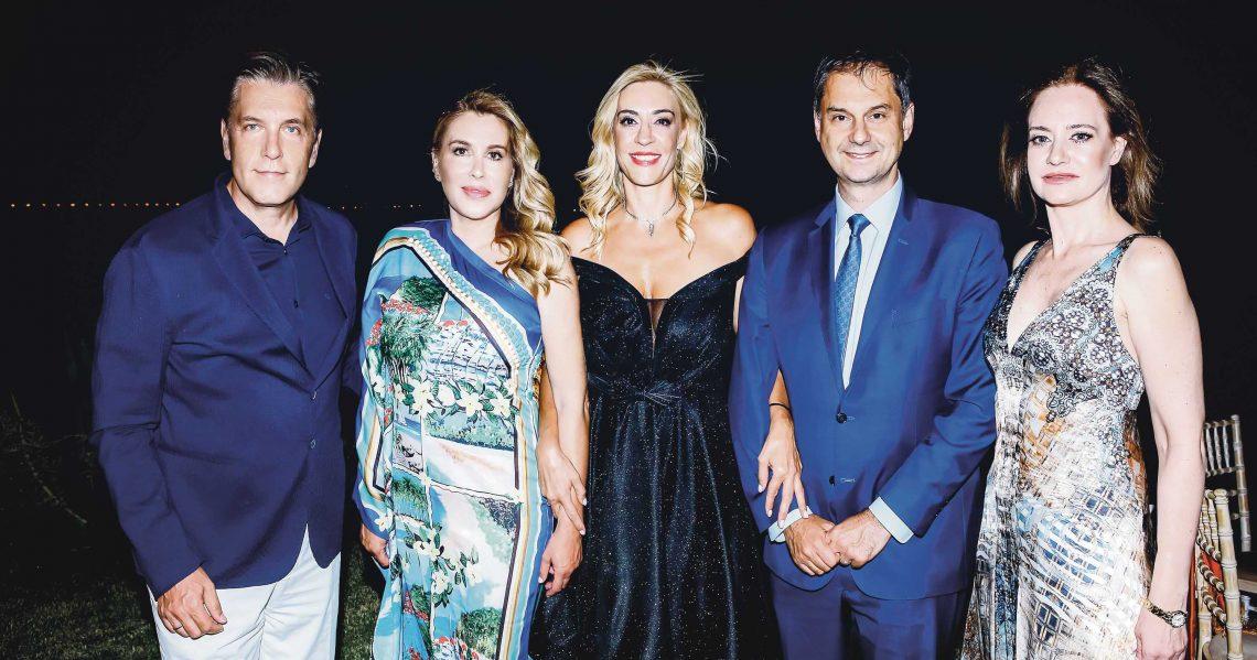 Α charity dinner of Lifeline Hellas in aid of the state hospitals of Greece