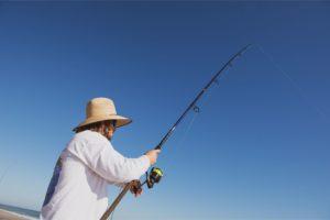 Surf fishing equipment