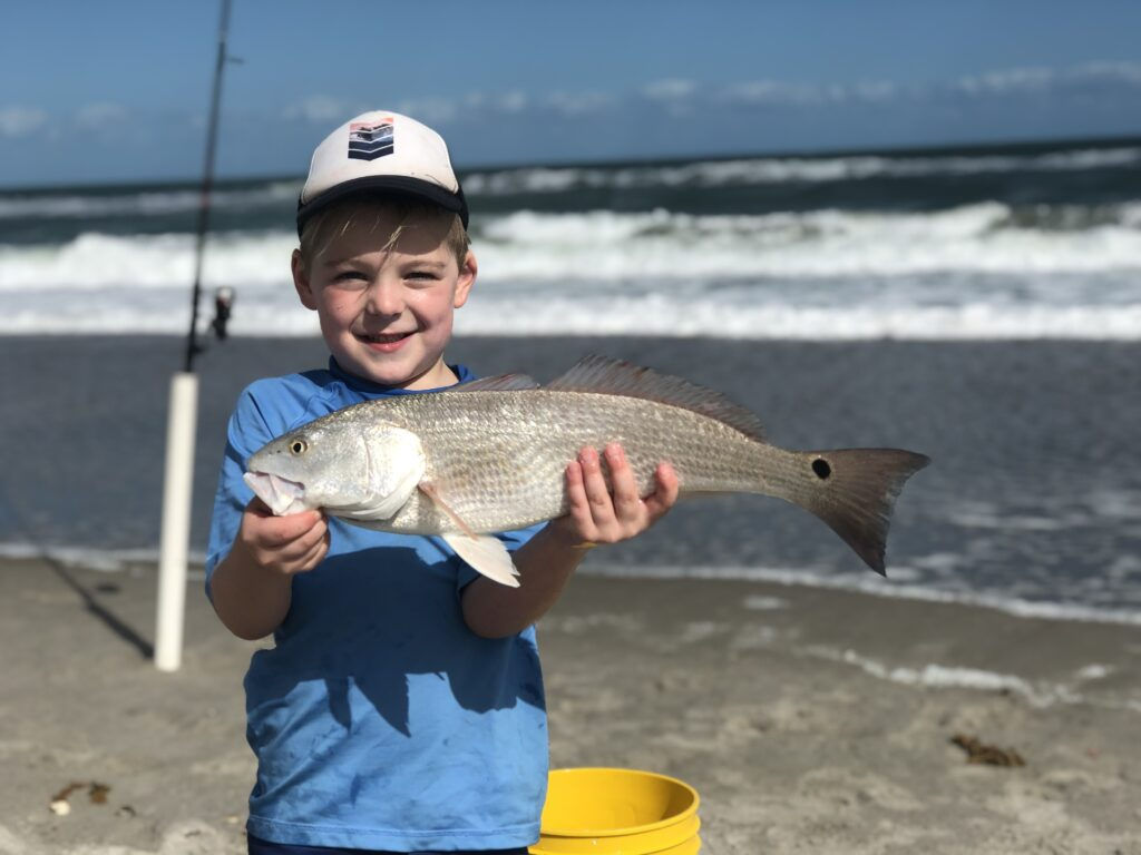 Surf Fishing for Redfish