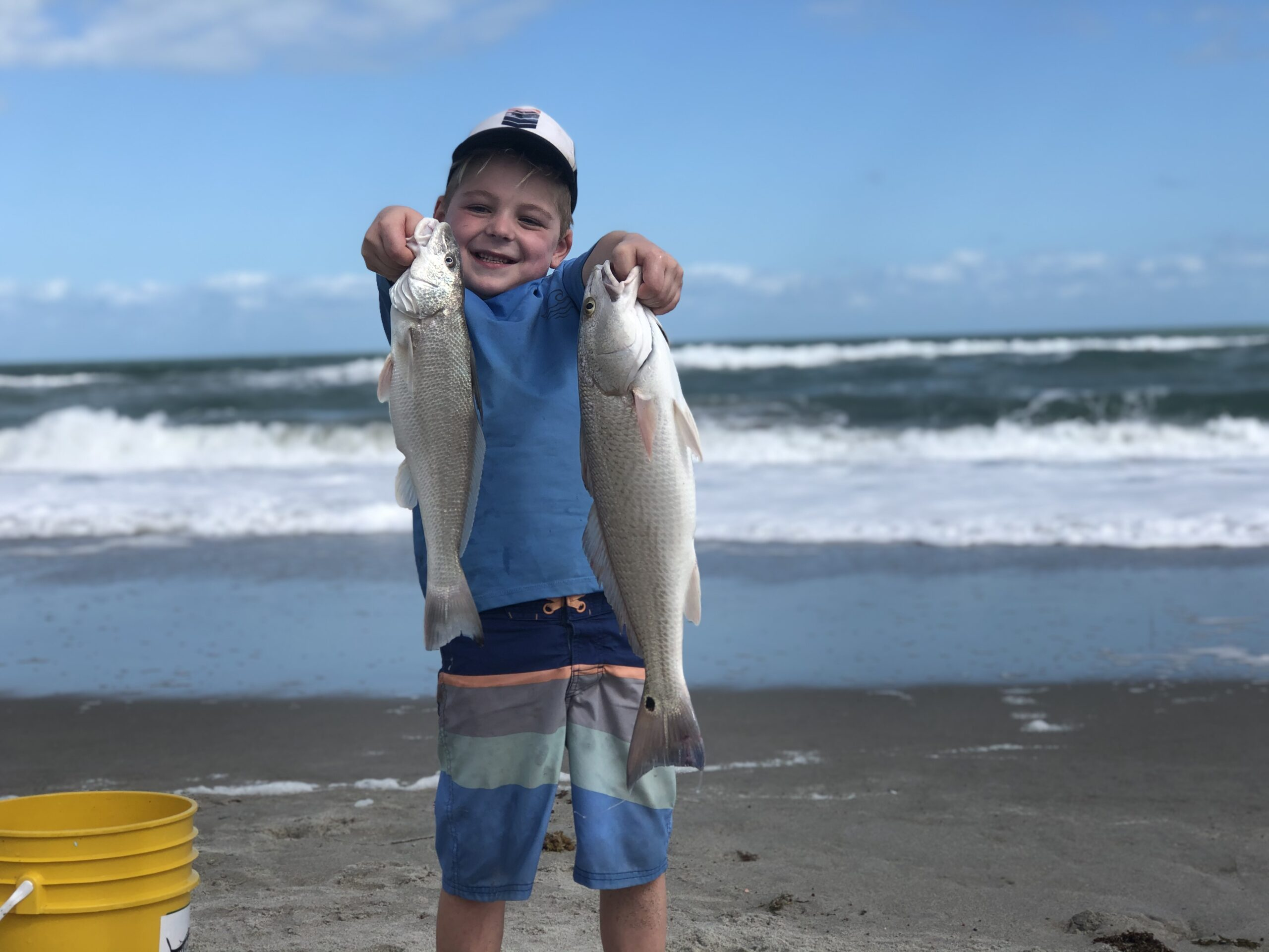 Space Coast Winter Surf Fishing Report