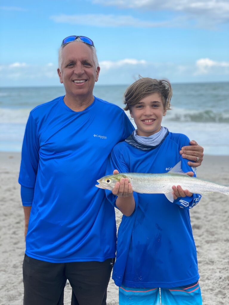 Surf Fishing for Ladyfish