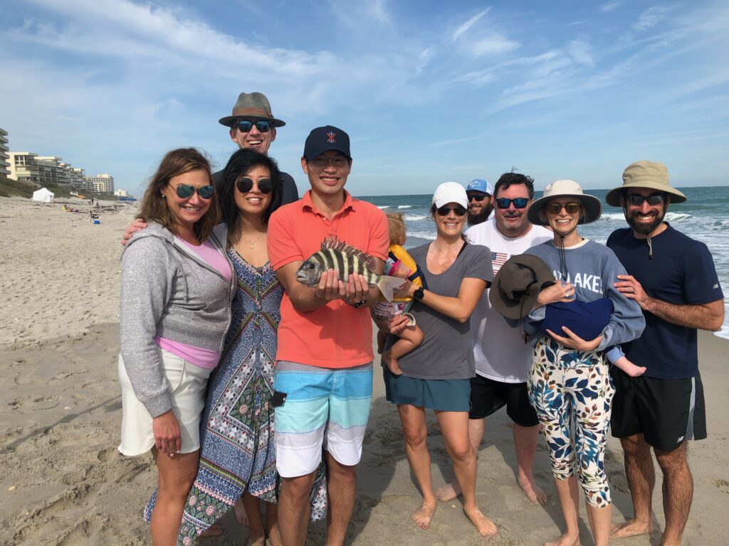 Surf Fishing for Sheepshead