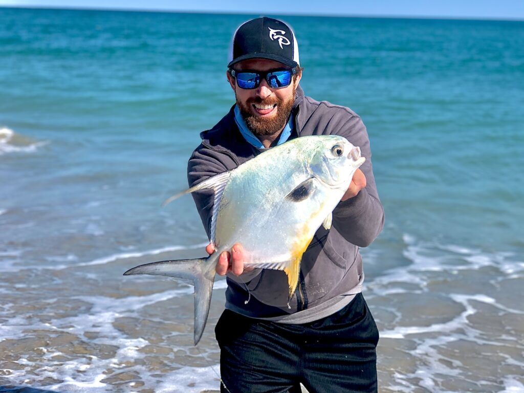 surf fishing for permit