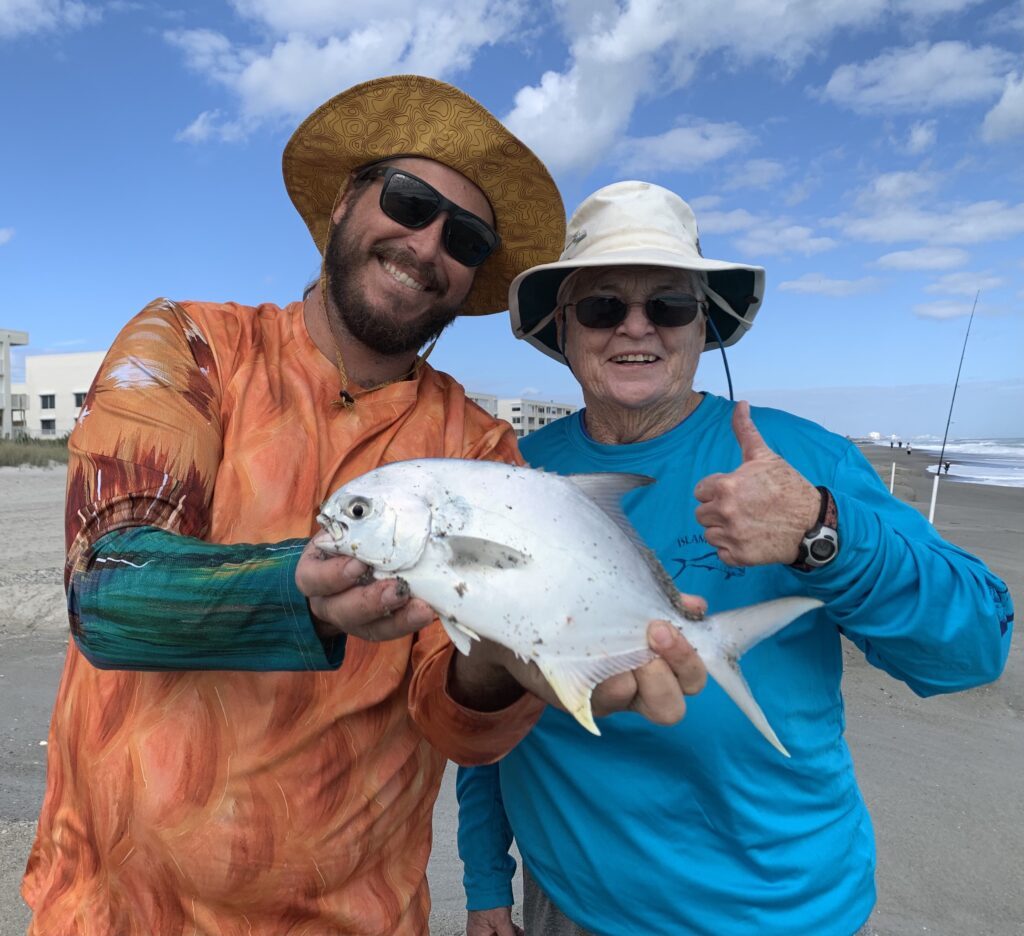 Pompano Surf Fishing