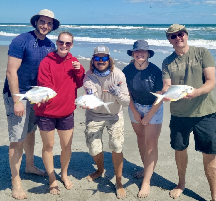 Surf Fishing Cocoa Beach