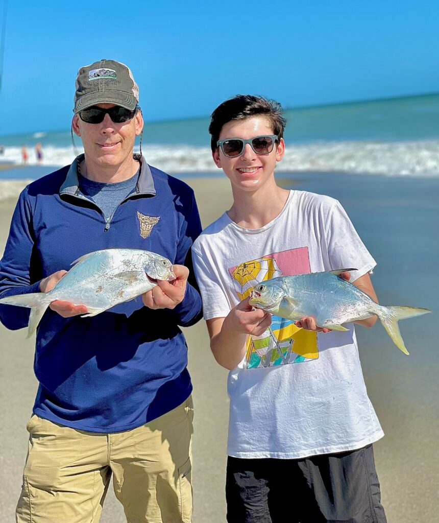 Space Coast Pompano Surf Fishing
