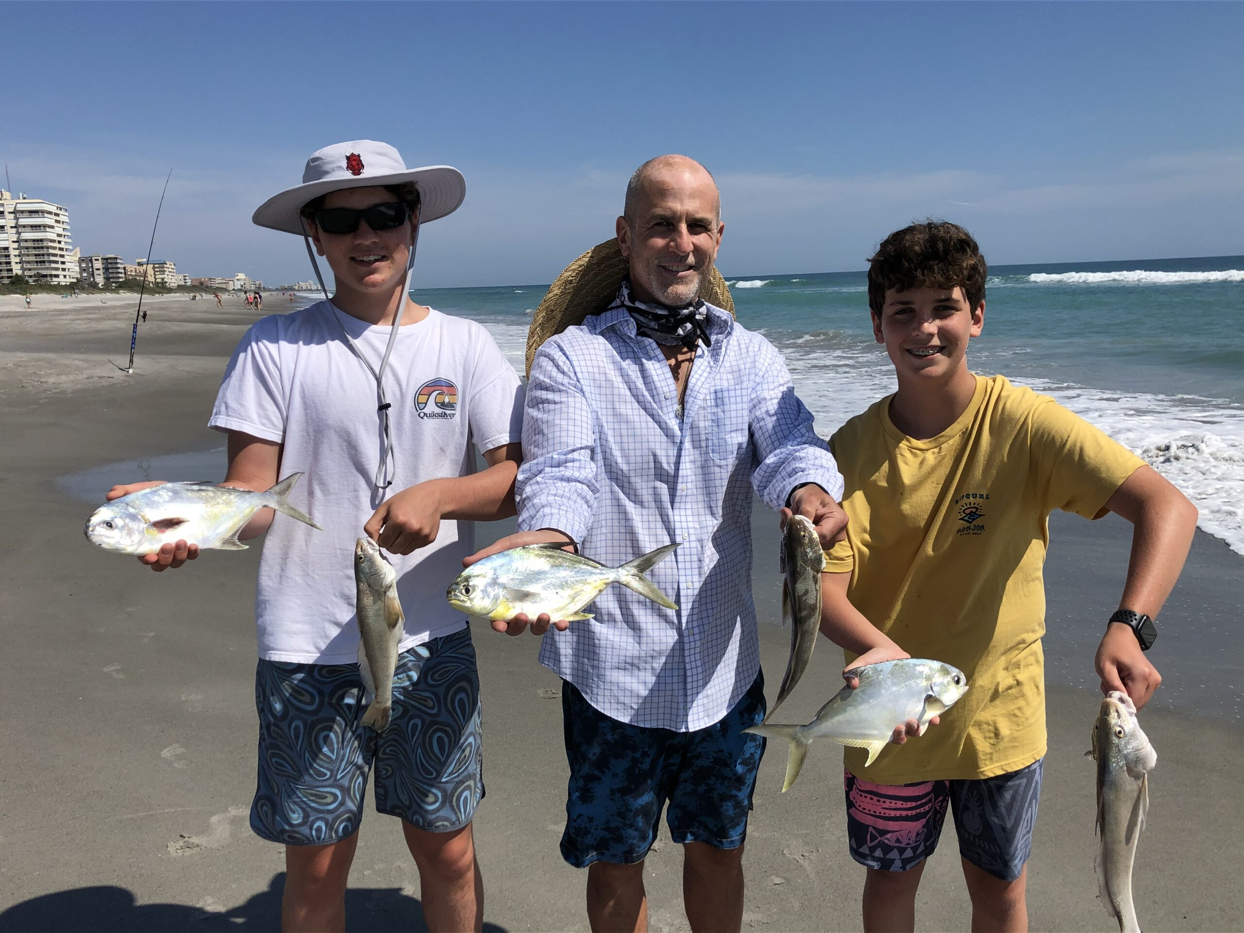 Surf Fishing Report for the Space Coast Area
