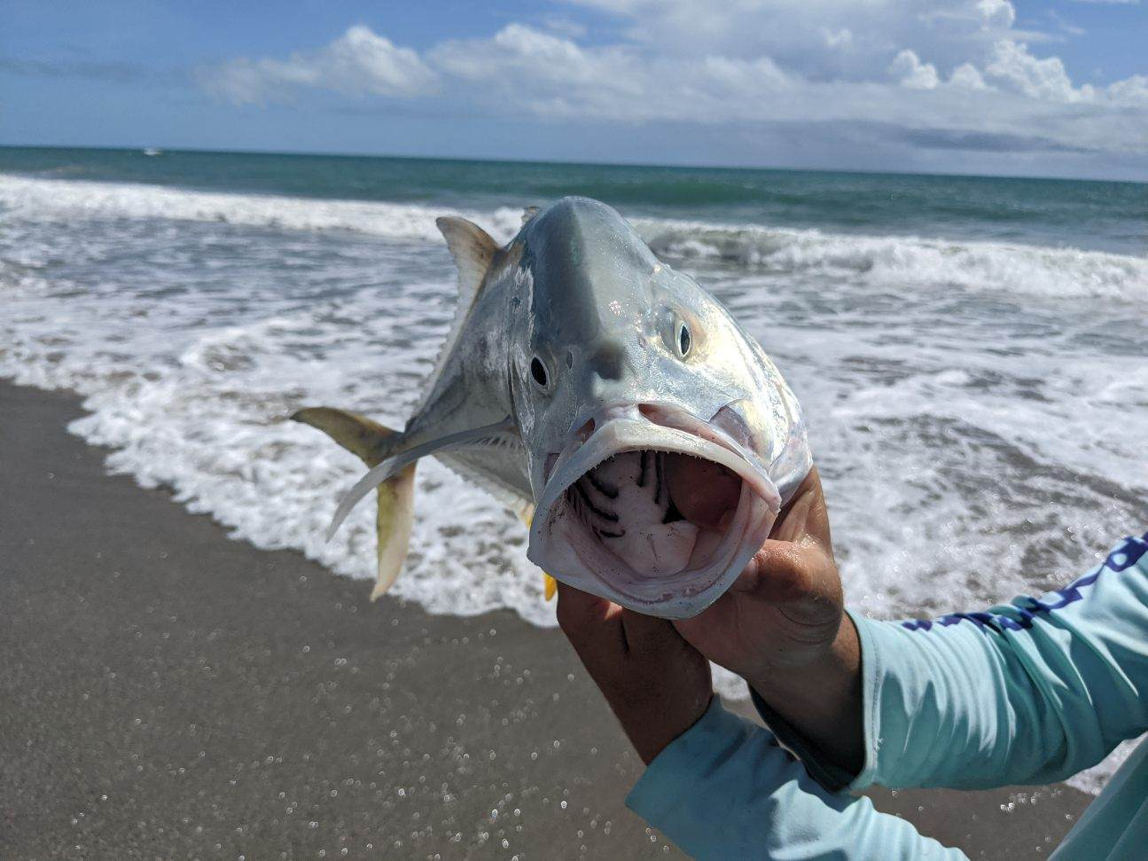 Summer Surf Fishing on the Space Coast