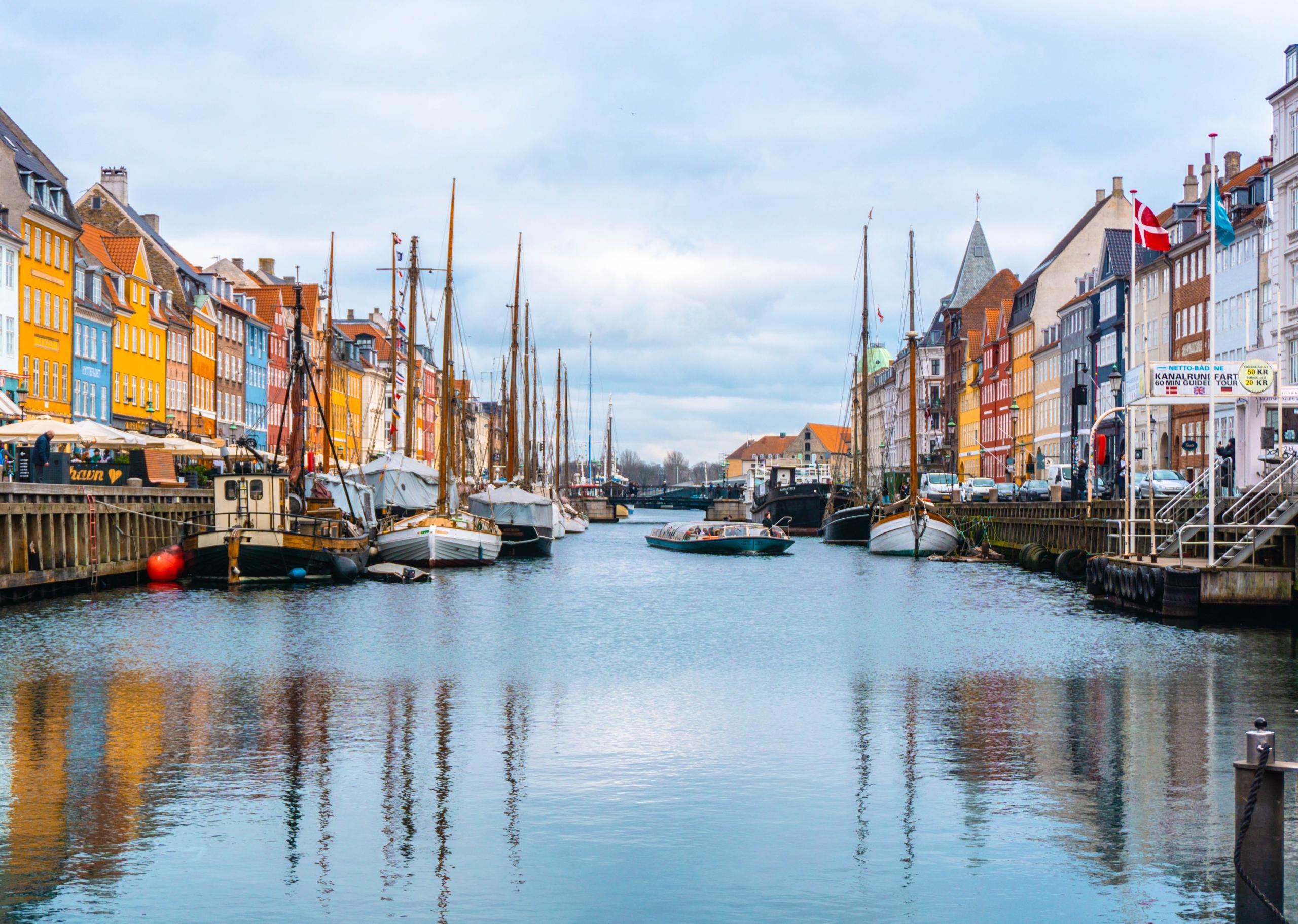 Danmark Nyhavn forside klimascore rejser