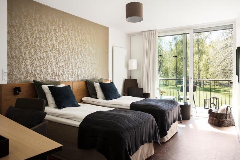 Rungstedgaard Hotel værelse overnatning