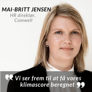 Mai Britt Jensen Climate award citat