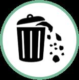 kategori affald klimascore