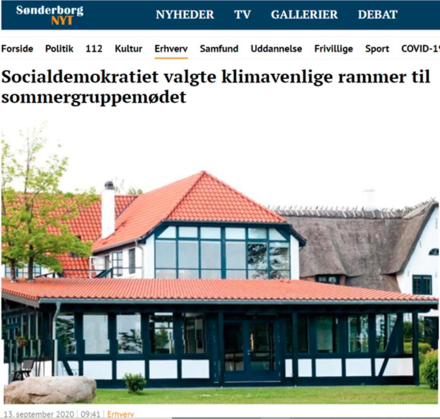 Klimascore Presse Socialdemokratiet