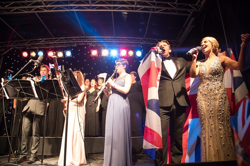 Showcasing Shropshire Talent at Proms & Prosecco in the Park