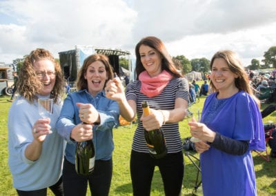4 ladies with Fizz