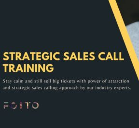 Sales call training for startups