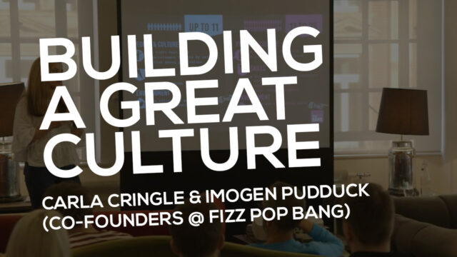 Building A Great Culture