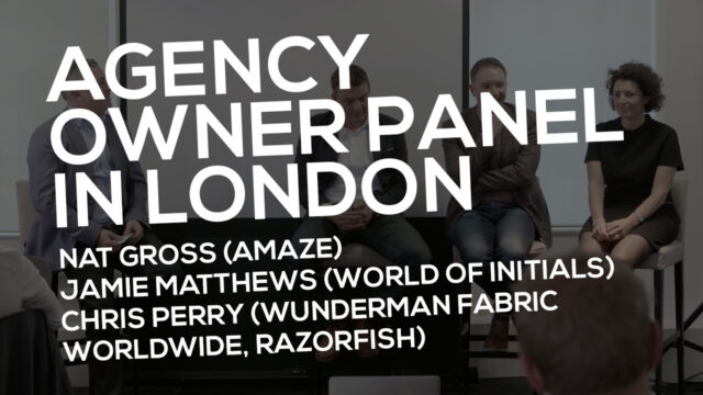 Agency Owner Panel In London