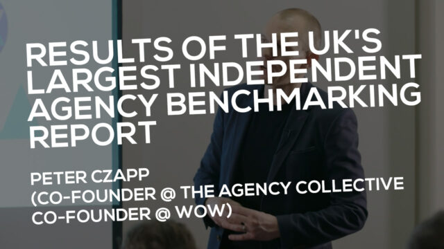 Results of the UK's largest independent agency benchmarking report