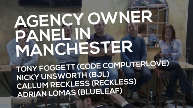 Agency Owner Panel In Manchester