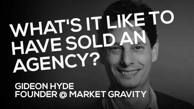Mergers & Acquisitions Webinar:                                 Gideon Hyde (Market Gravity)