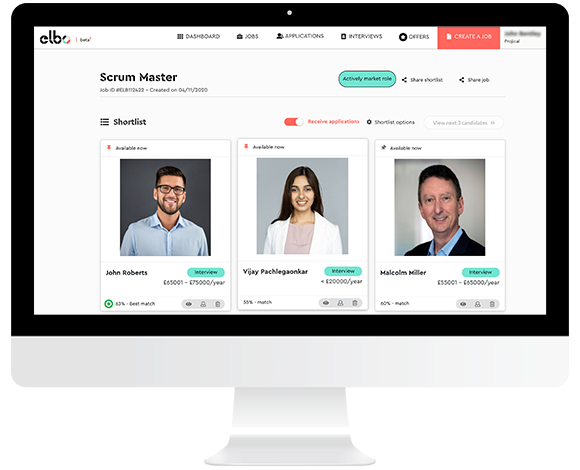 elbo The fastest way to build your digital team ever