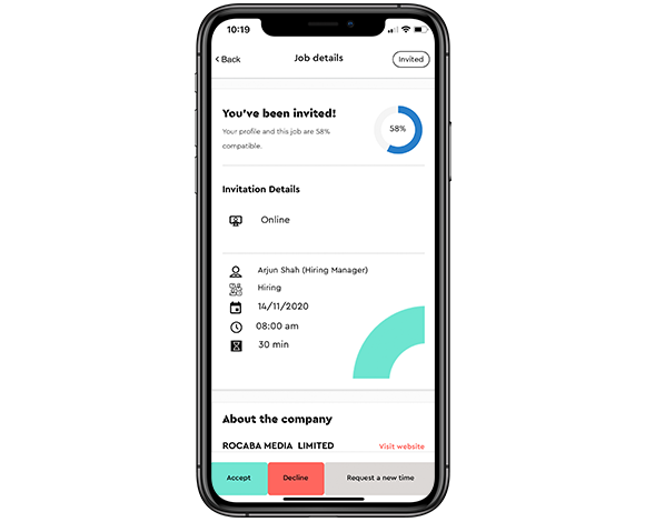 elbo digital data interview details mobile