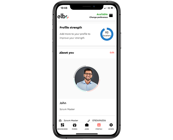 elbo for candidates mobile