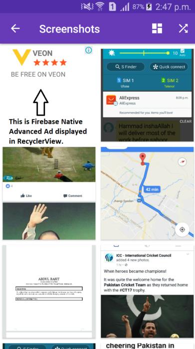 Advanced Native Ads