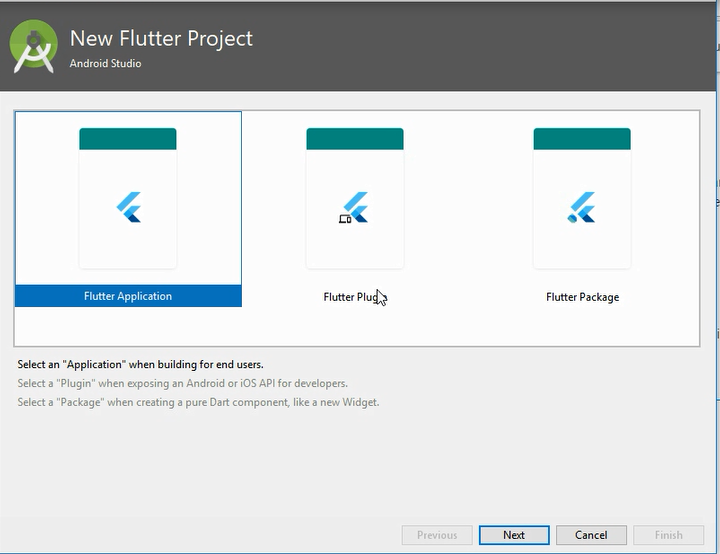 How to Create Flutter App Android Studio