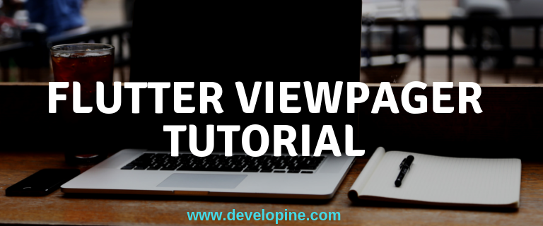 Flutter PageView ViewPager + UIScrollView with circular dots tutorial