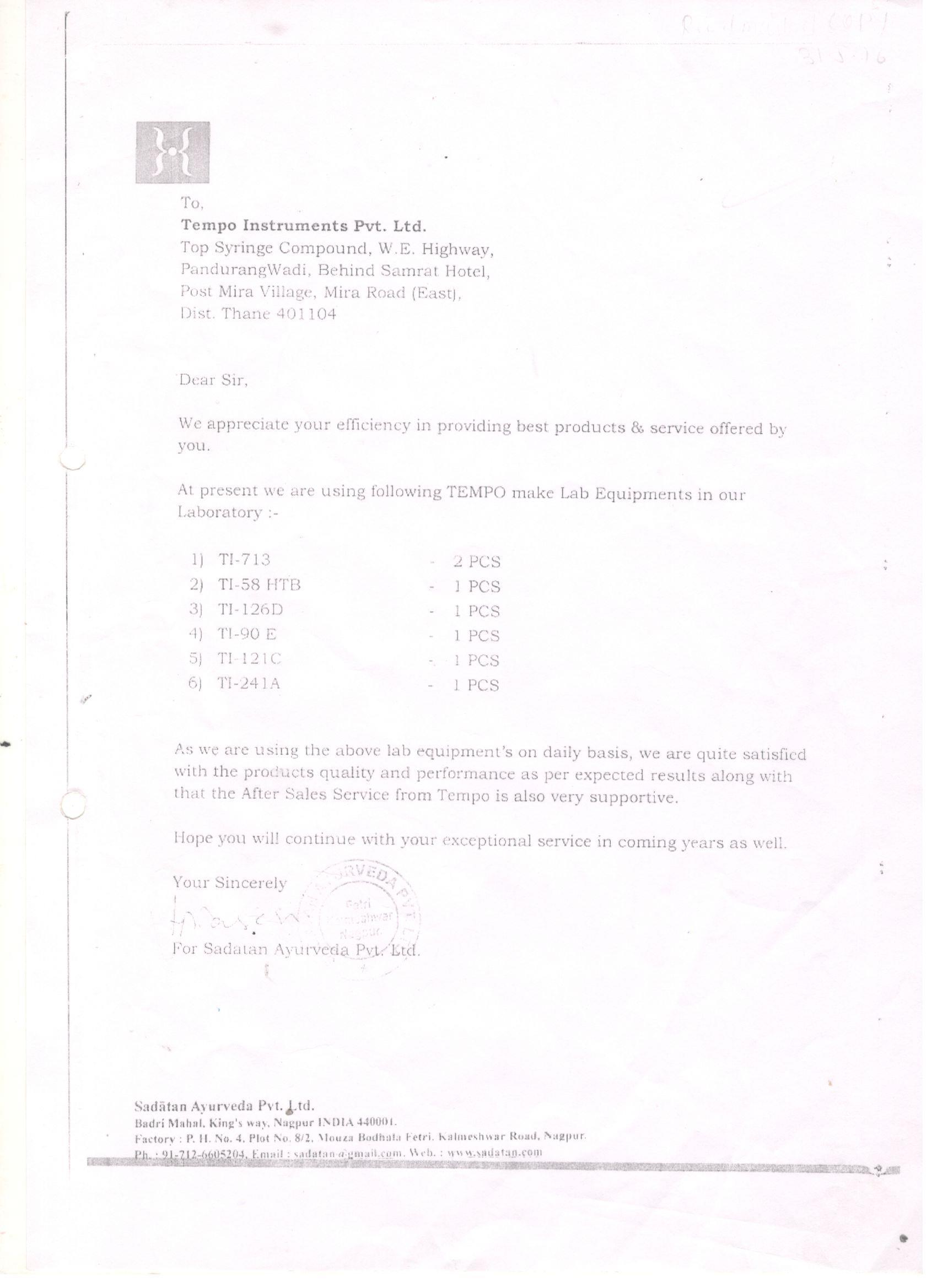 Sadatan Ayurveda Pvt Ltd