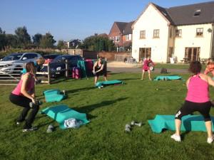 Gforce 10 circuit training with Elias Abbey-Pedley