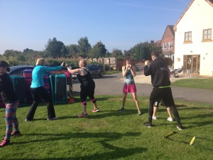 Fitness pop up day