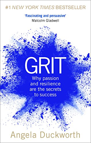 The cover of Grit by Angela Duckworth