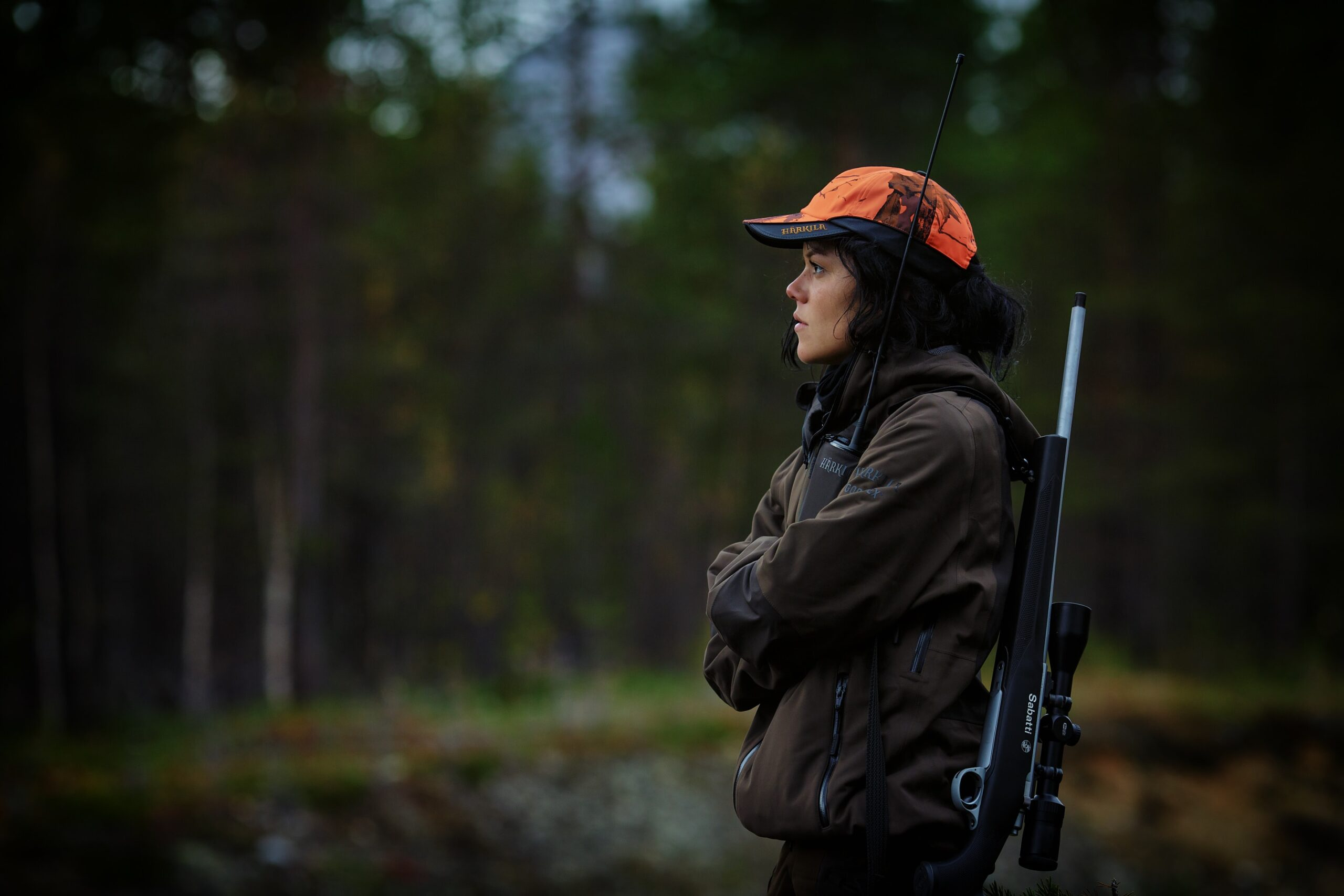shotgun and firearms applications and renewals medical reports - Shotgun Medicals. Woman in forest hunting