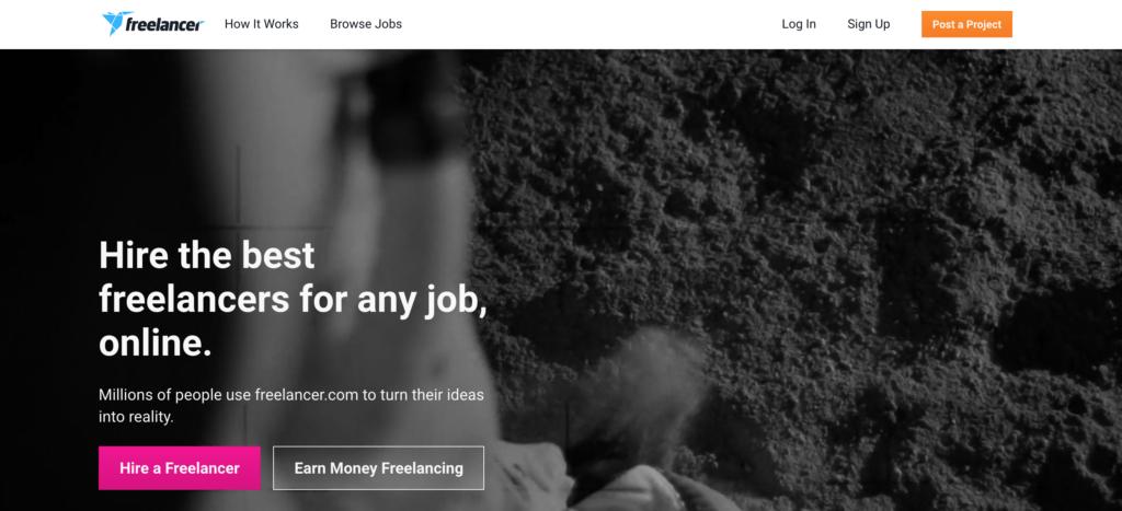 best online writing sites - freelancer