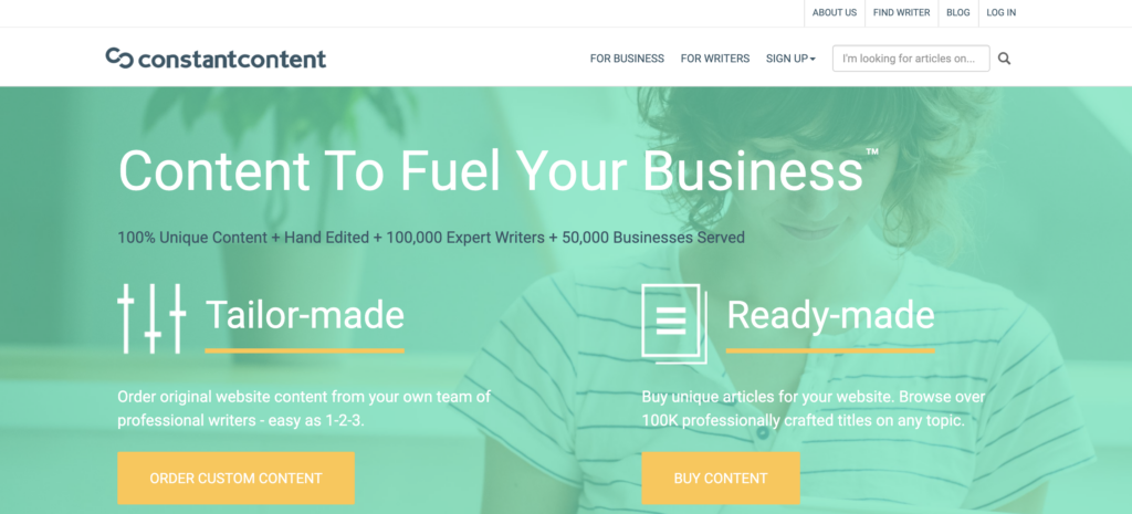 best place to find freelance writers - constantcontent