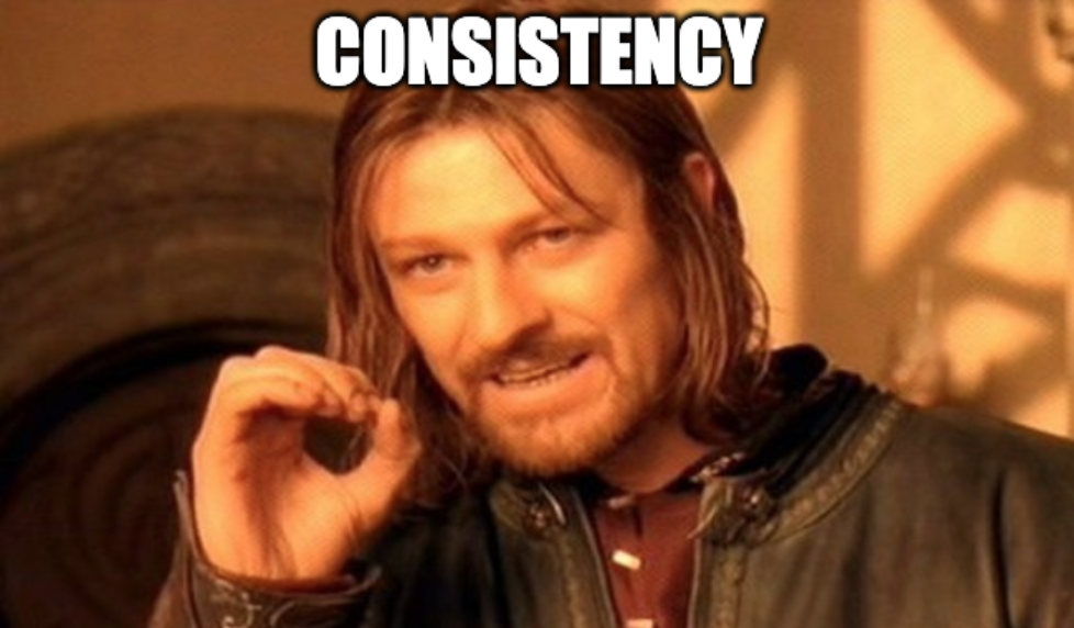 consistency is a key | 4 writing skills for bloggers