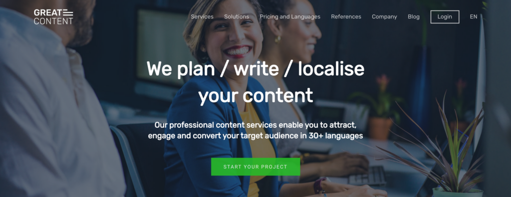 freelance copywriters websites - greatcontent