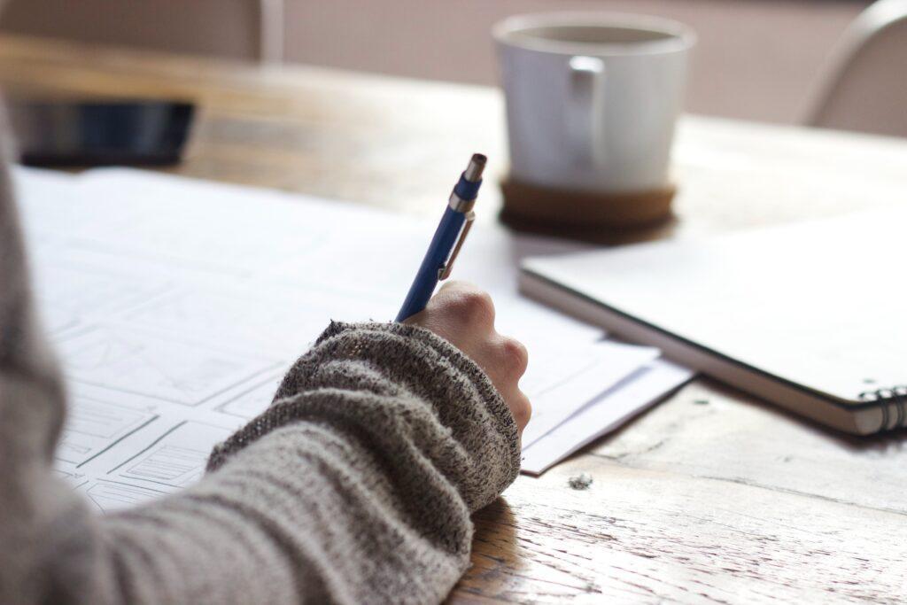 portfolio for a writer